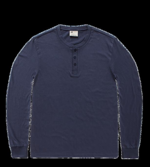 3536 - Shoreline long sleeve henley shirt